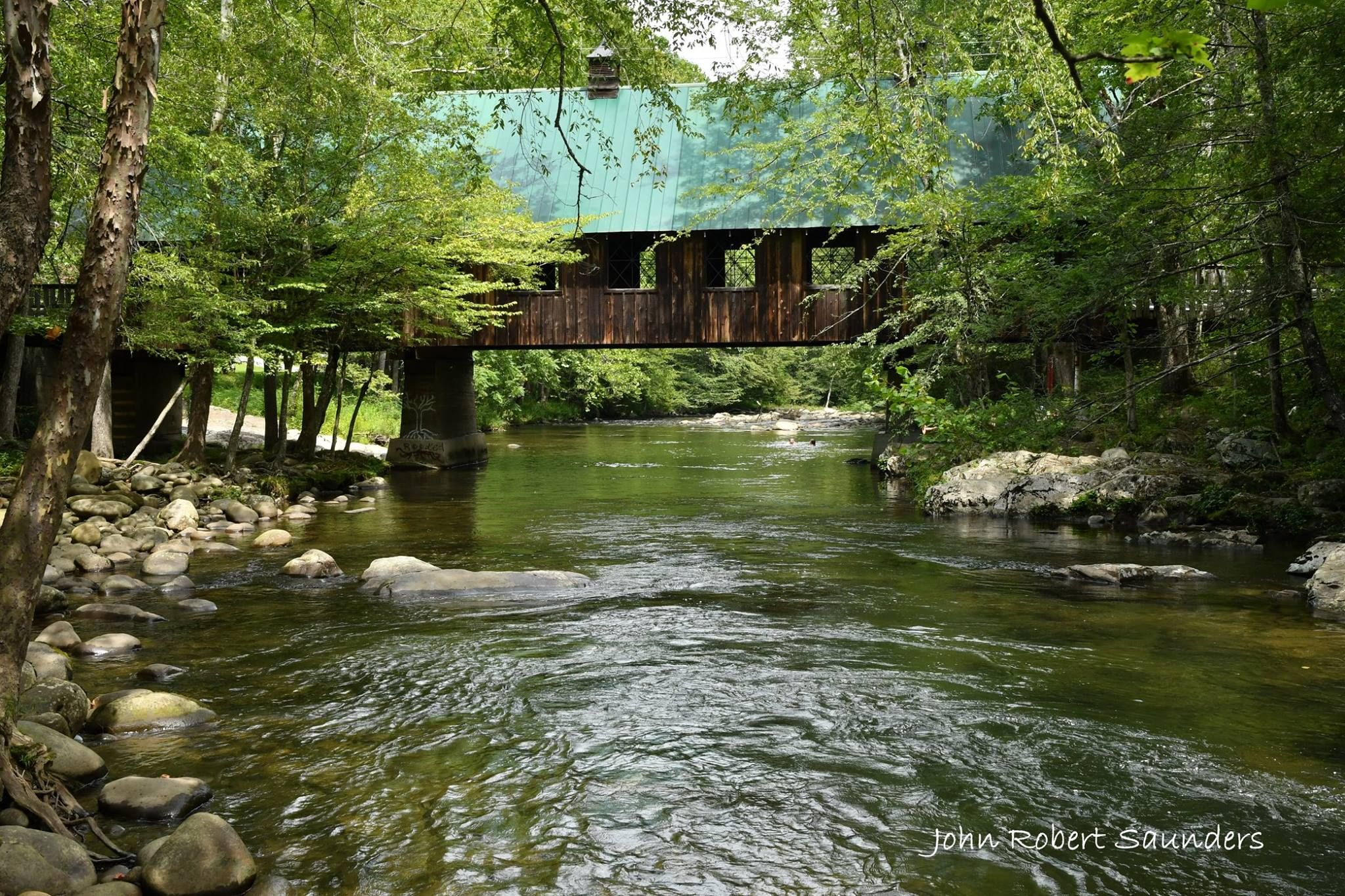 Emert S Cove Covered Bridge In The Smoky Mountains In 2019