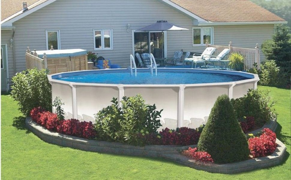 abovegroundpoollandscapingpictures of landscaping around above ground pool - Garden Ideas Around Swimming Pools
