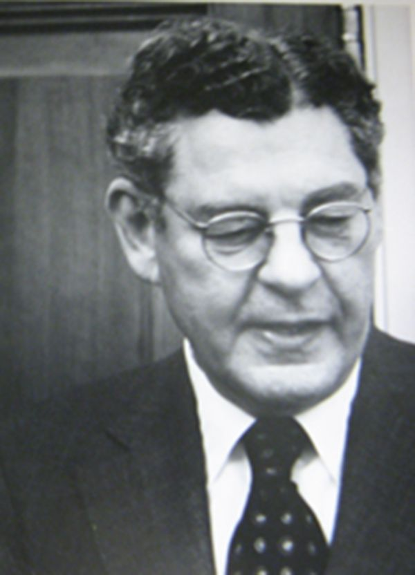 R.M. Lumiansky, President, 1974-1982; President pro tempore, 1985-1986