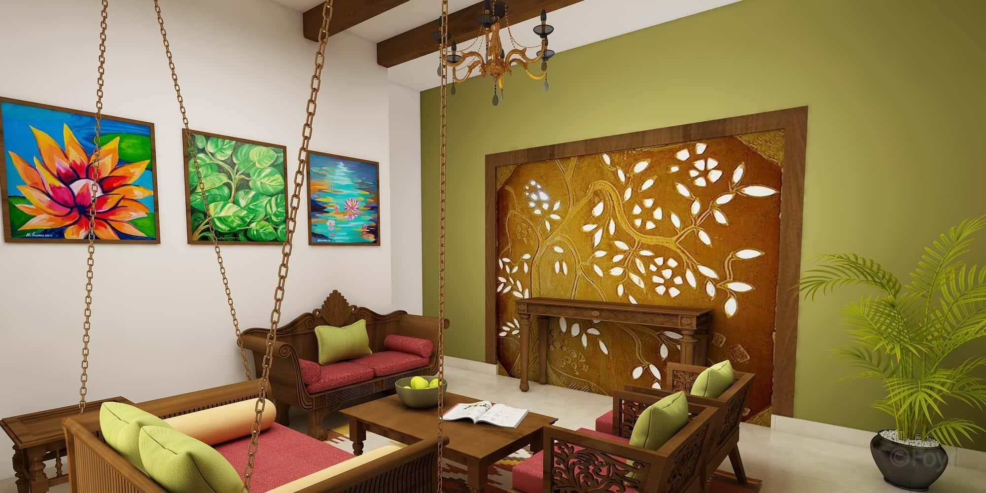Interior design ideas indian ethnic