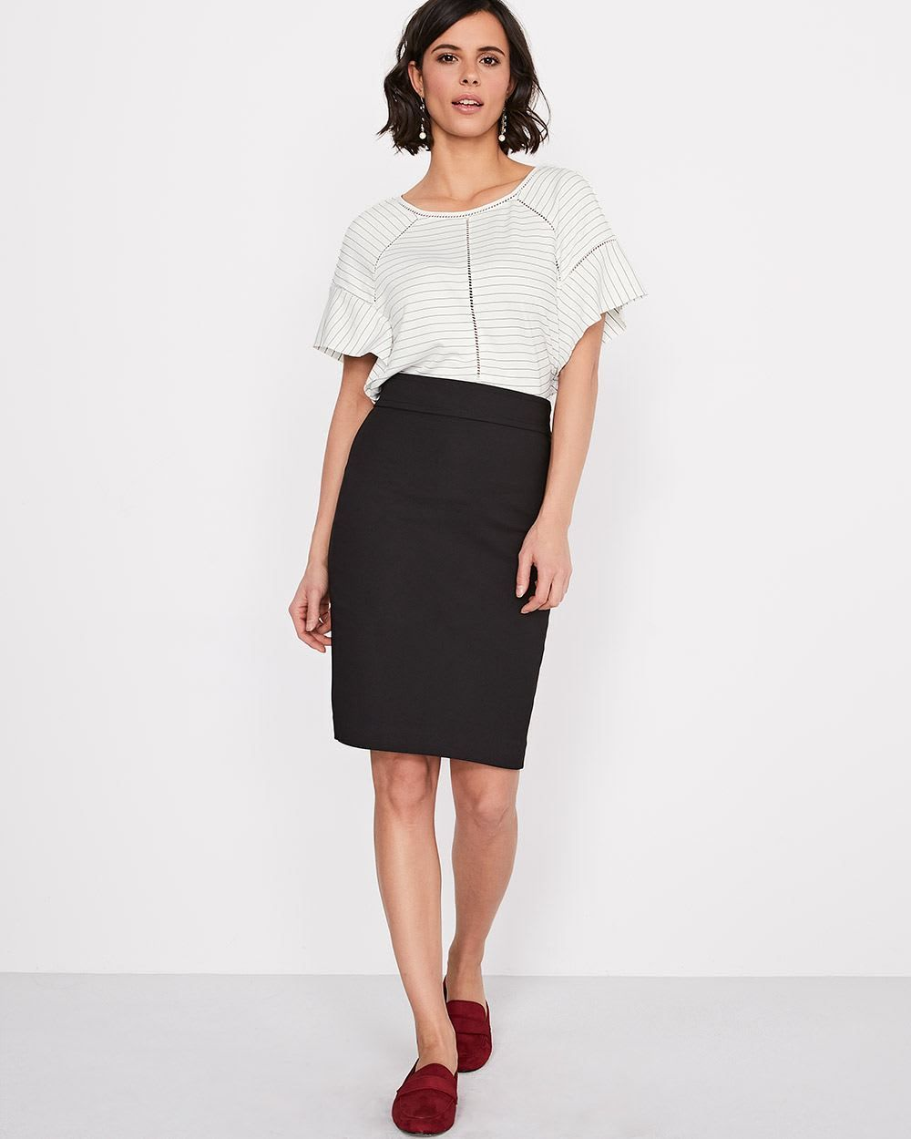 f04b7f8cd Solid Modern Chic Pencil Skirt | Dress 6 | Skirts, High waisted ...