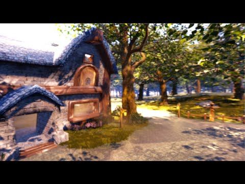 Classic World Of Warcraft Zone Remade Using Unreal Engine 4