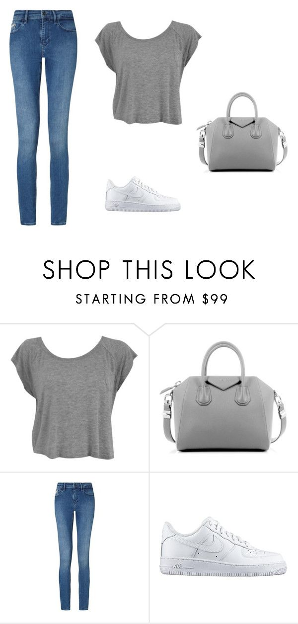 """""""tgh"""" by v-askerova on Polyvore featuring мода, Givenchy, Calvin Klein и NIKE"""