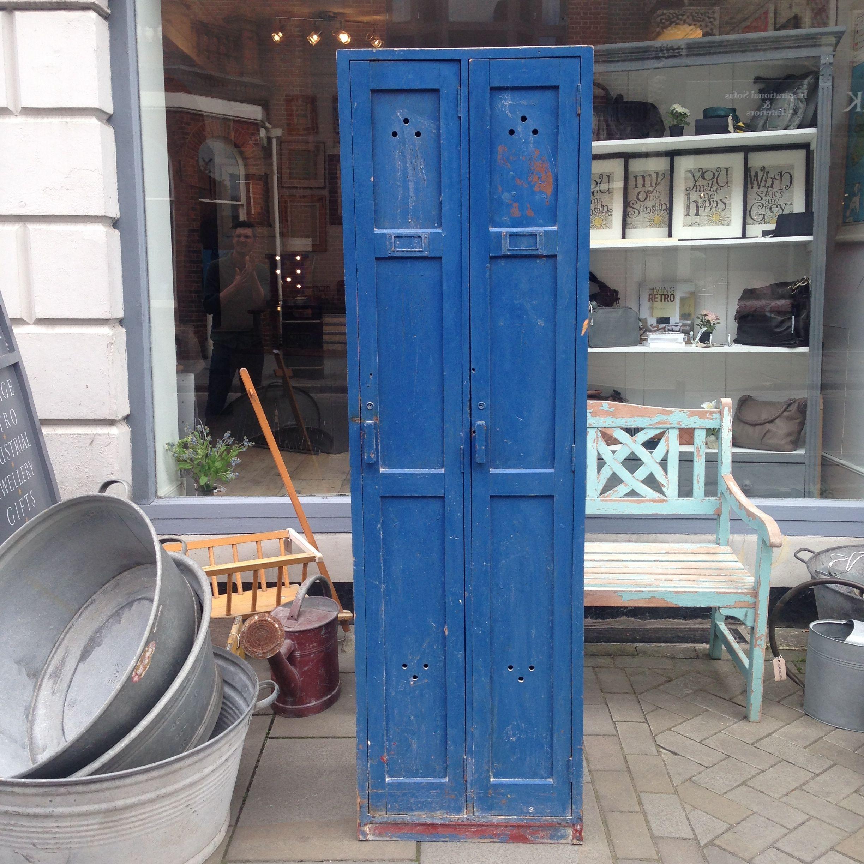 Vintage Painted Lockers