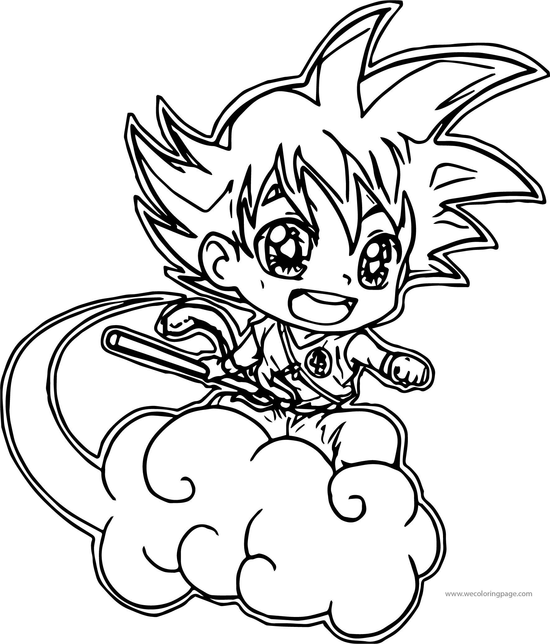 Beste Goku Malvorlagen Bilder - Druckbare Malvorlagen - helmymaher.com