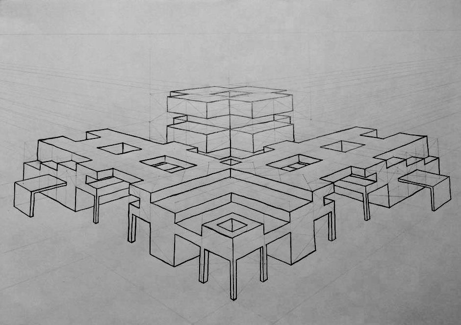 2 Point Perspective Abstract Art Point Perspective 1 Point Perspective Perspective
