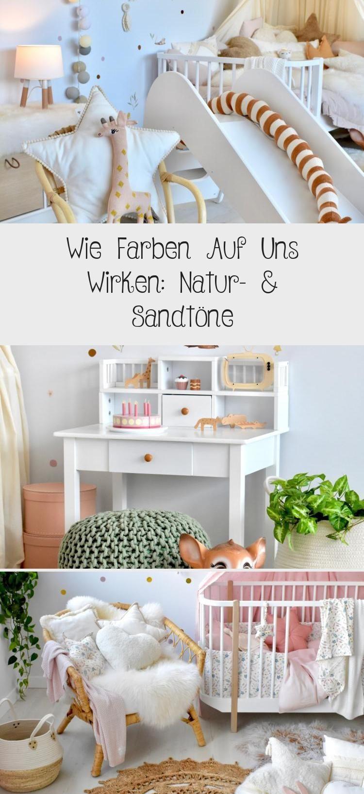 Wie Farben Auf Uns Wirken Natur Sandtöne Babyzimmer Babyzimmer In Naturtönen Mit Senfgelb Und Karamell Kombinie Colorful Kids Room Room Colors Baby Room