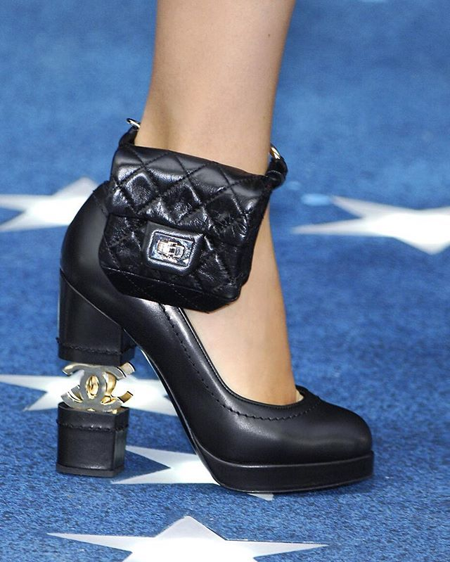 3fb1b79f325b CHANEL Spring/Summer 2008 ankle bags inspired by Lindsay Lohan's 2007  alcohol monitoring ankle bracelet
