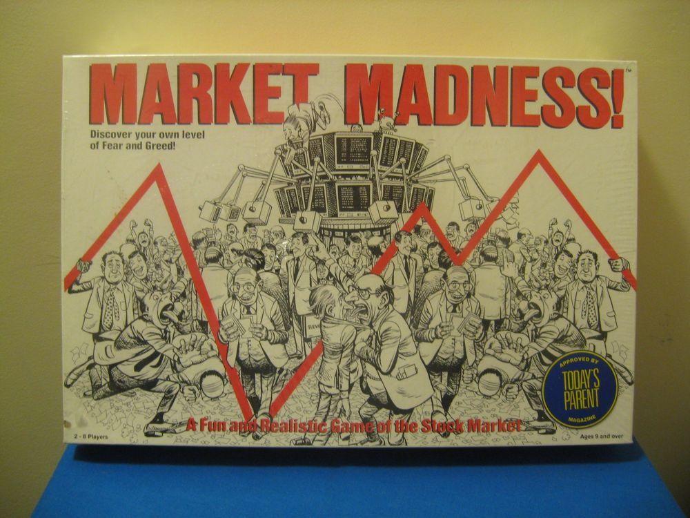 Market madness realistic stock market trading board game