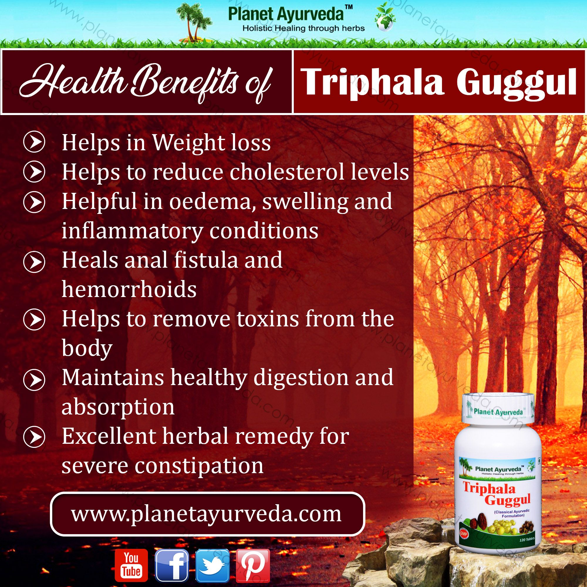 Triphala #Guggul is an #ayurvedic #herbal #product in