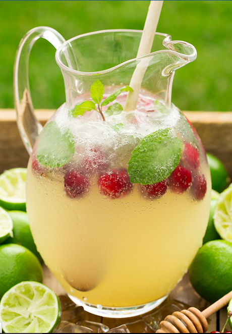 Gallery [Homemade] Sparkling Honey Limeade is free HD wallpaper.