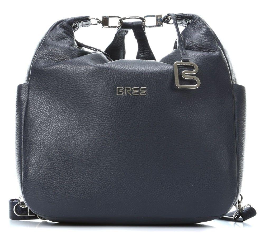 2d3b856ea96ee Bree Nola 6 Rucksack Leder blau 32 cm - 206250006-blue