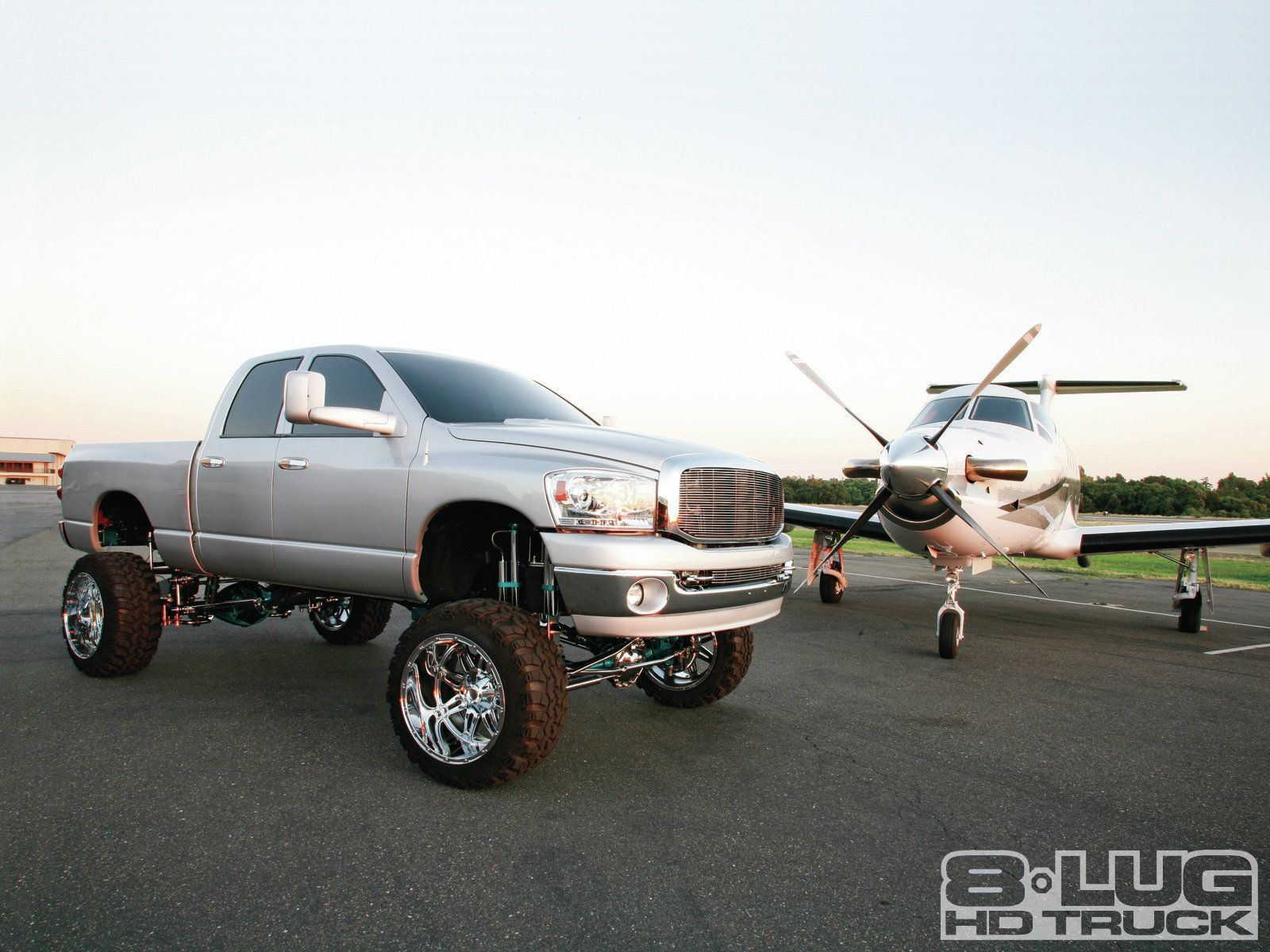 All for show 2007 dodge ram 2500 4x4 2007 dodge ram 2500 4x4 with small plane