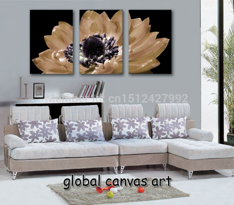 3 panel Modern Home Decoration Abstract EuropeStyle