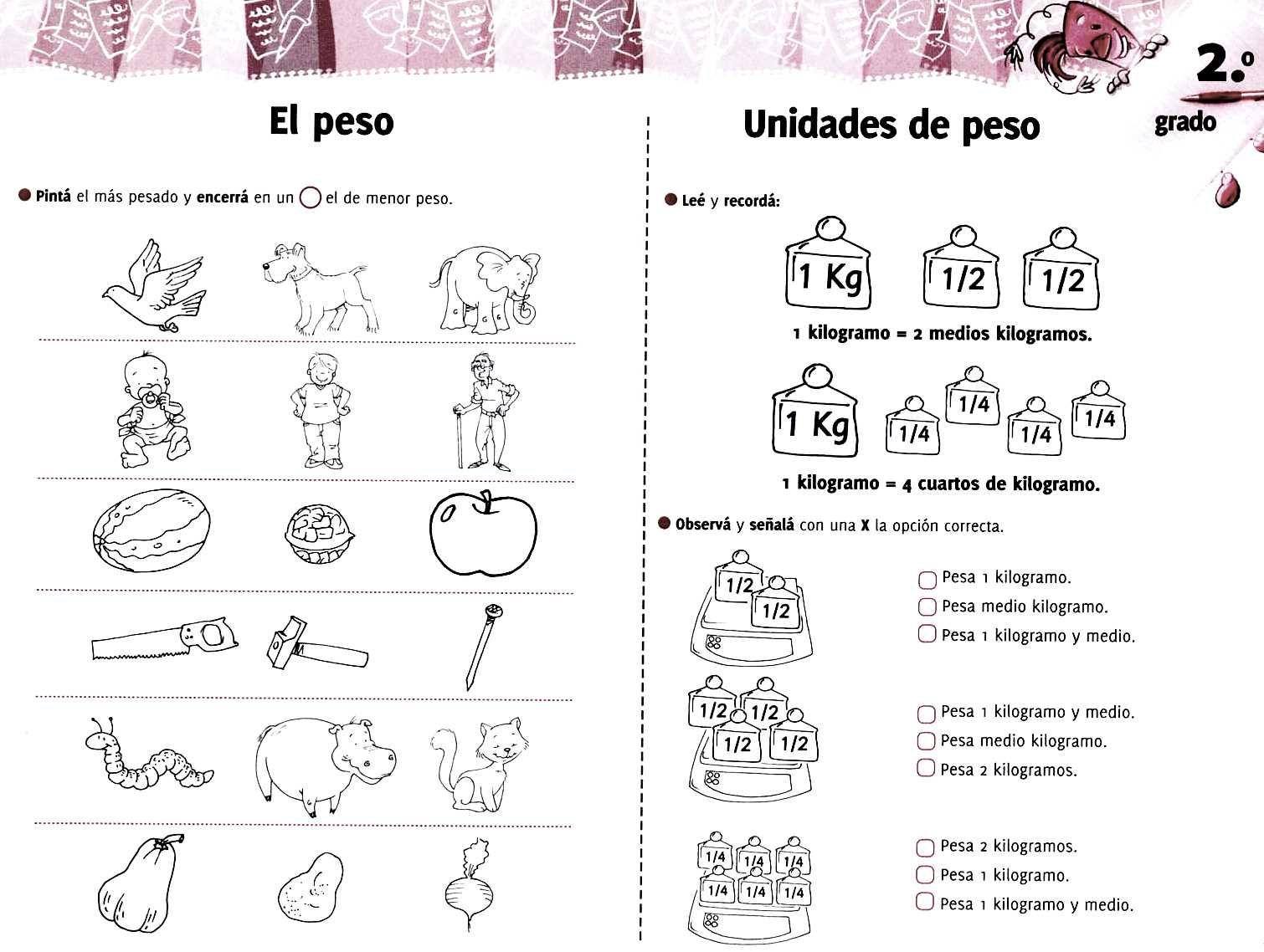 Aula Seno Sory Medida Actividades Para Imprimir Actividades De Medicion Actividades De Matematicas Actividades Para Primaria