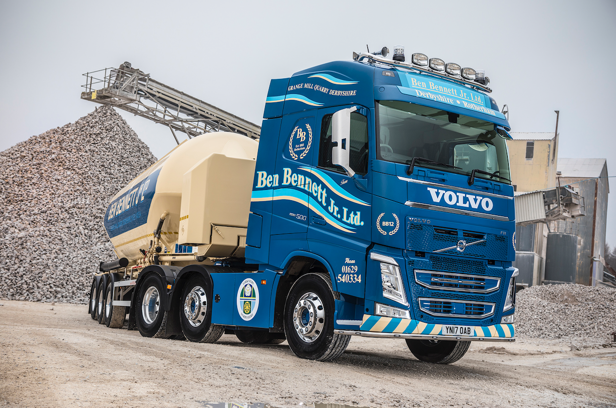 Check out this stunning volvo fh recently delivered to ben bennett jr traveltuesday