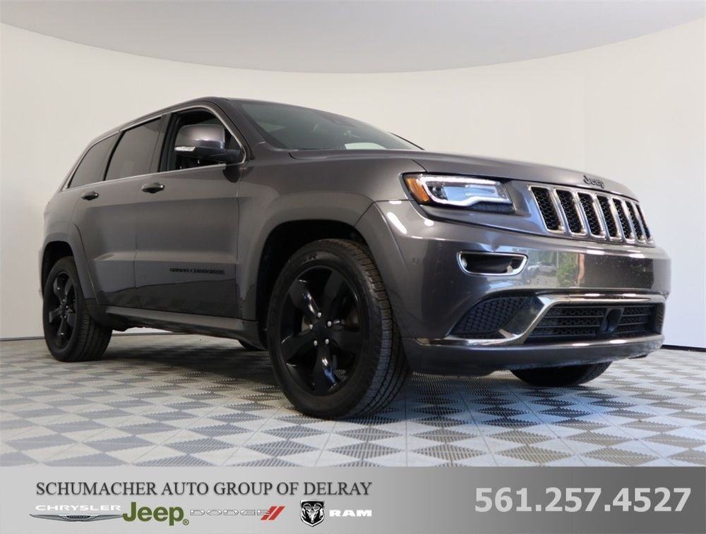 Ebay 2016 Grand Cherokee High Altitude 2016 Grand Cherokee High