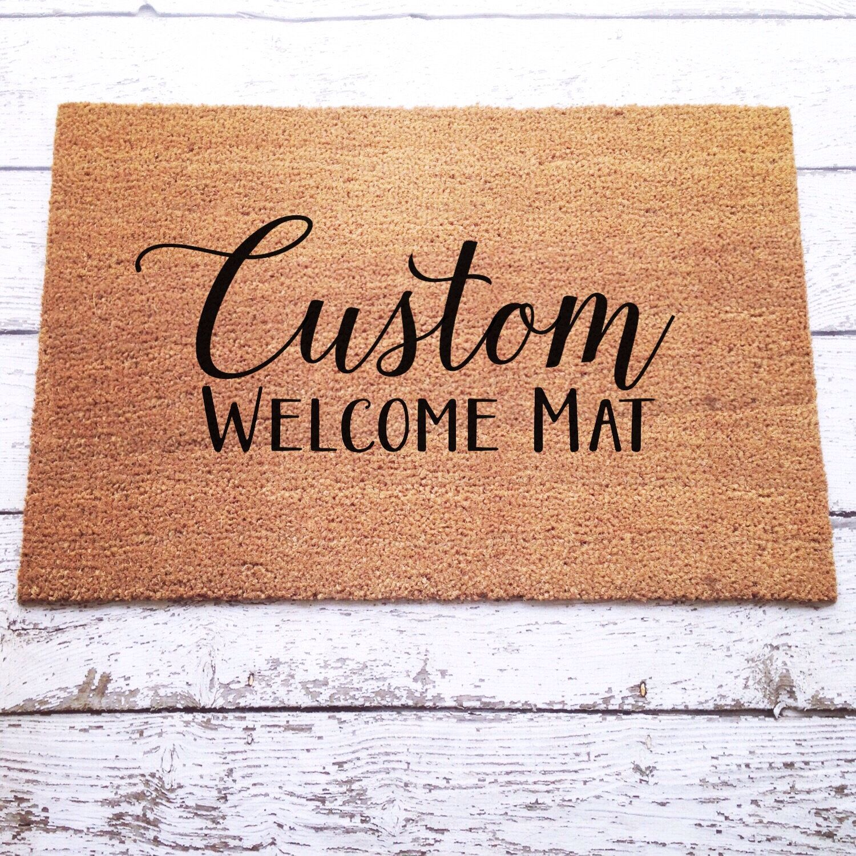 mat sandhill vineyards crane customized mats welcome paint personalized event sip class