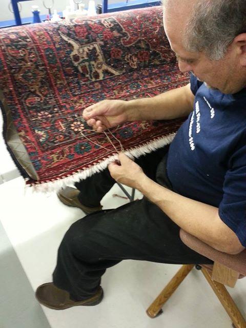 We wash rugs and we repair them too.  #arearugrepair #arearugcleaning