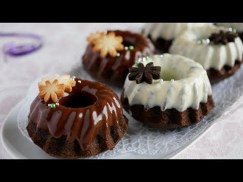 クグロフ型で♡バター無しでもふんわり美味!チョコケーキ | chocolate cake