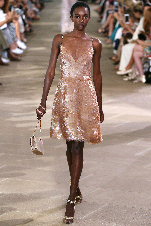 gold rose sparkle cocktail dress