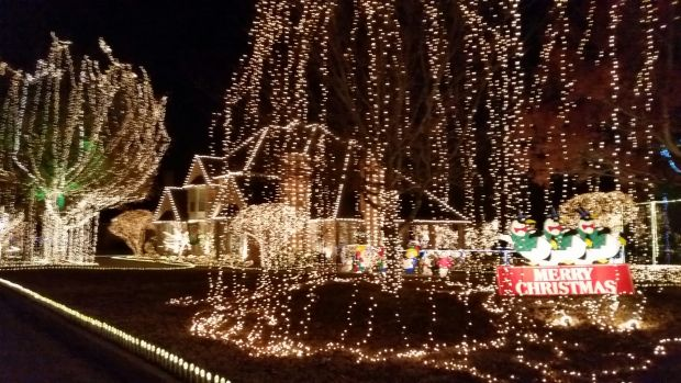 Our Christmas Eve Tradition Dinner At Campo Verde In Arlington Texas With All The Crazy Lights And Then Drive Down To Kulesz Light Display