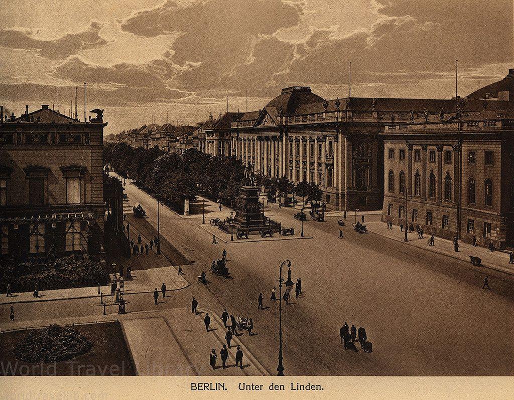 Berlin 1915 05 Unter Den Linden Germany