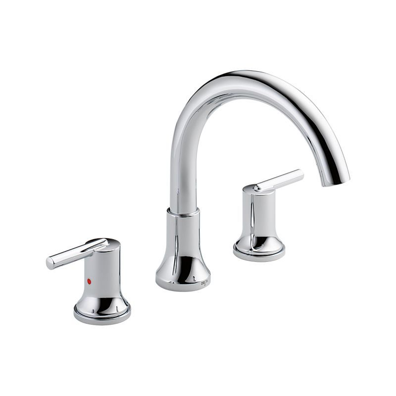 T2759 Trinsic 3 Hole Roman Tub Trim Bath Products Delta Faucet