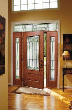 Windows Doors Modern Entry House Entry Doors Craftsman Front Doors Door Glass Design
