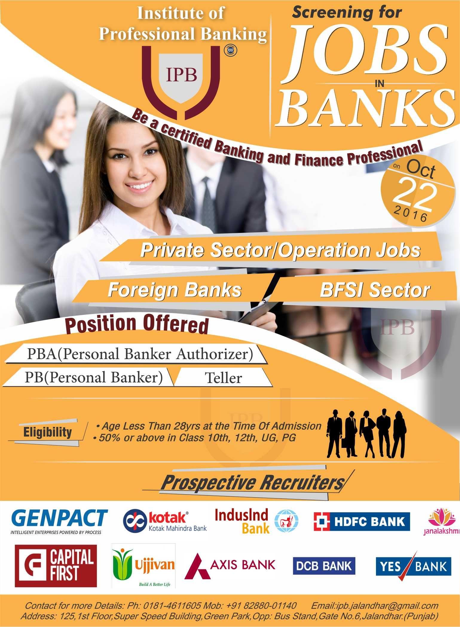 private bank jobs in uttarakhand 2018