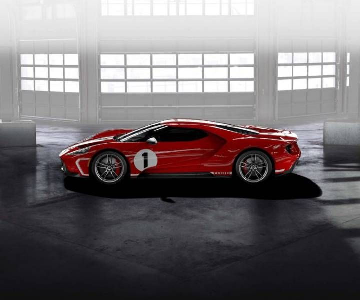Ford GT Heritage Edition Sprints From Mph In Under - Sports cars under 60