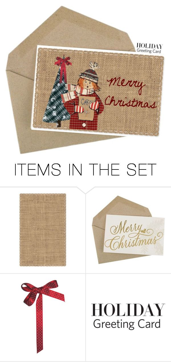 """Holiday Greeting Card"" by lence-59 ❤ liked on Polyvore featuring art, holidaygreetingcard and PVStyleInsiders"