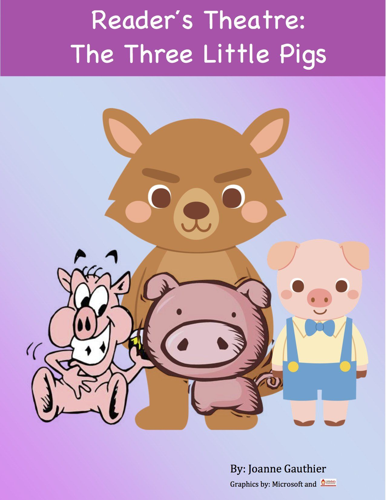 Three Little Pigs Readers Theater For Grades 1 And 2