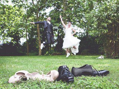 Du rire aux larmes de joie : Le très émouvant mariage de Leslie + Mickaël