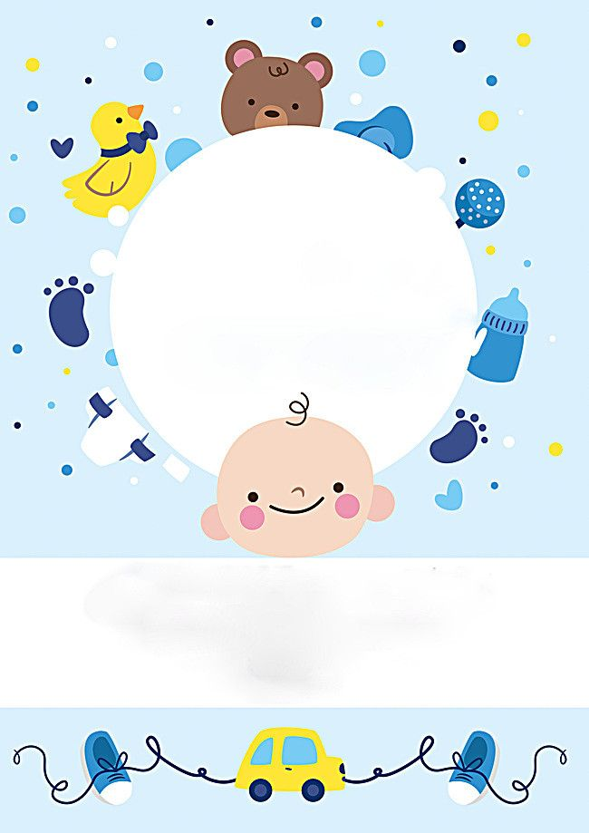 Baby Products Background Cute Baby Bear