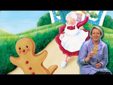 The Gingerbread Man Fairy Tale read by Miranda Gore