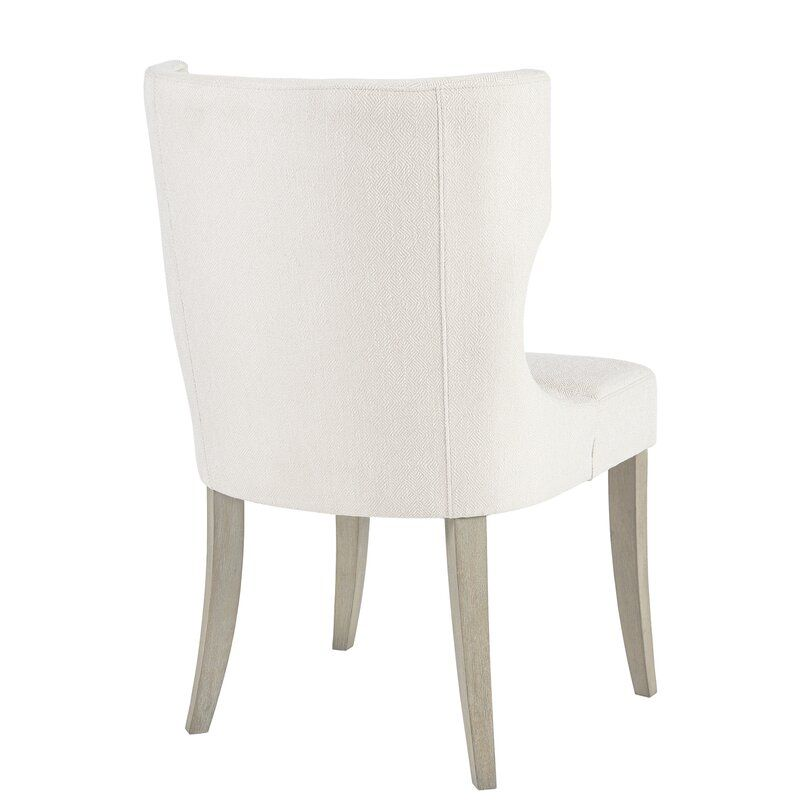 Laflamme Upholstered Dining Chair In 2020 Upholstered Dining Chairs Solid Wood Dining Chairs Dining Chairs
