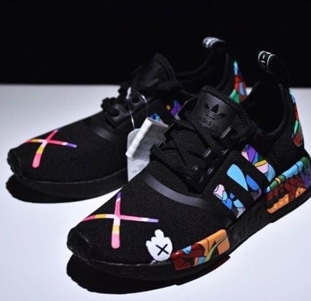 brand new 841f1 952d9 Kaws X nmd   Shoes   Sneakers, Adidas shoes, Shoes