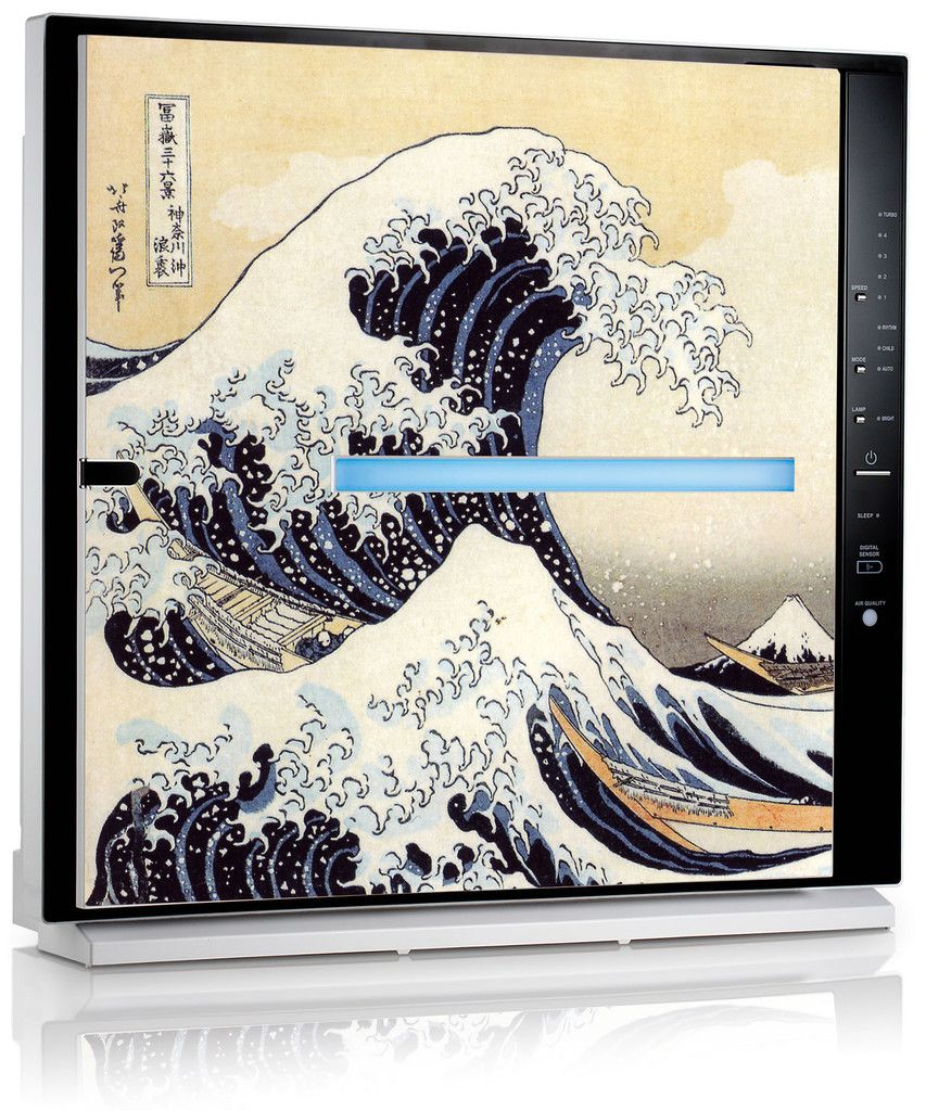 MinusA2 Artists Series Air Purifier (The Great Wave