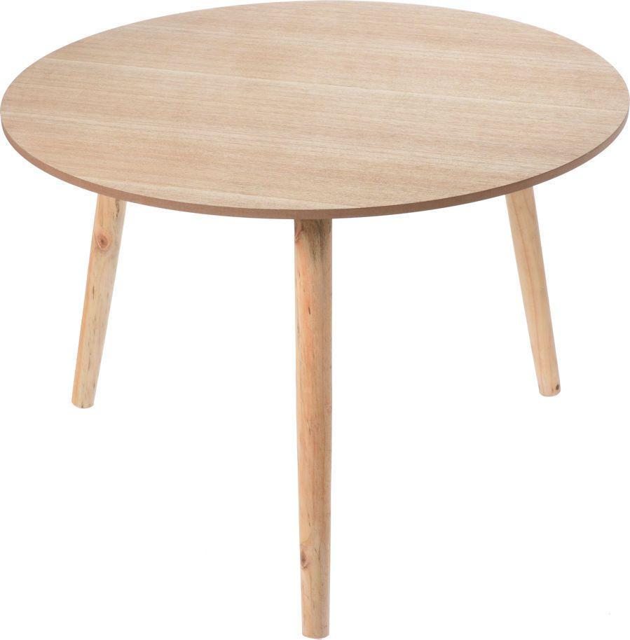 Sympathisch Beistelltisch Holz Sammlung Von Design - Tisch Rund 60 Cm -