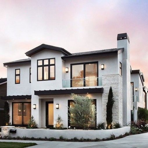 27 Stunning Modern Dream House Exterior Design Ideas House Designs Exterior Modern Farmhouse Exterior Dream House Exterior