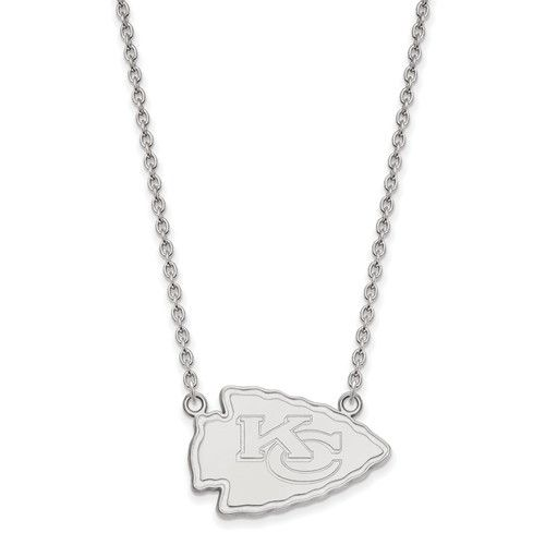 Solid Wichita State Crystal Logo Pendant Necklace Charm Chain 18