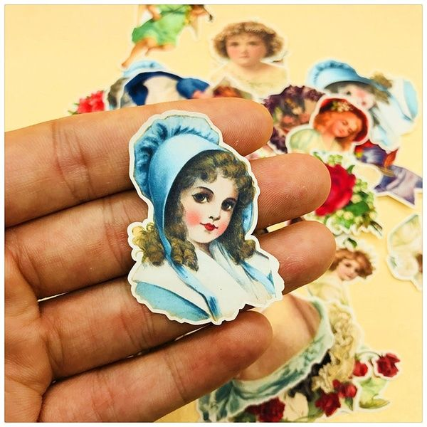 Wish Shopping Made Fun In 2020 Girl Stickers Art Vintage