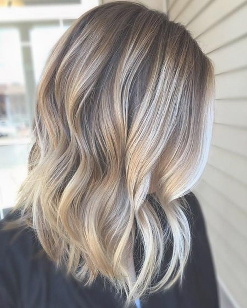 Ombre Colored Short Frisuren Fur Den Sommer 2018 2019 Sommer