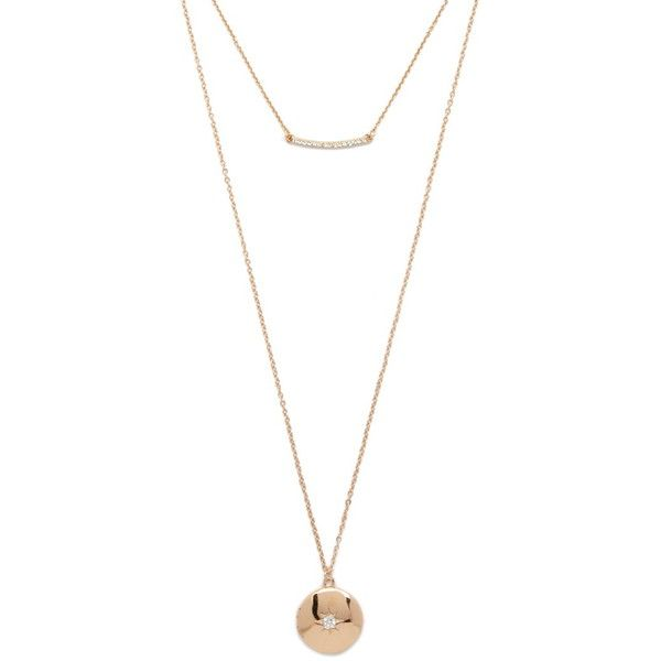 Forever 21 Layered Rhinestone Necklace ($5.90) ❤ liked on Polyvore featuring jewelry, necklaces, locket necklace, forever 21 necklace, multi layer necklace, rhinestone jewelry and layered chain necklace