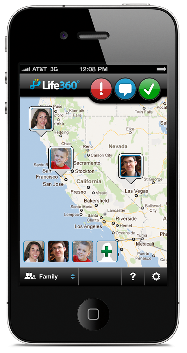 Family » Life360 » Safety » Technology Family Locating
