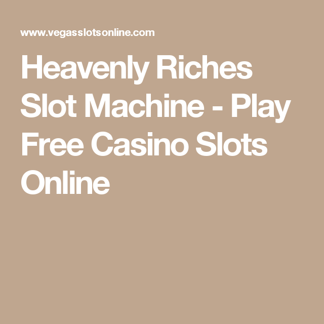 Pin On Free Slots