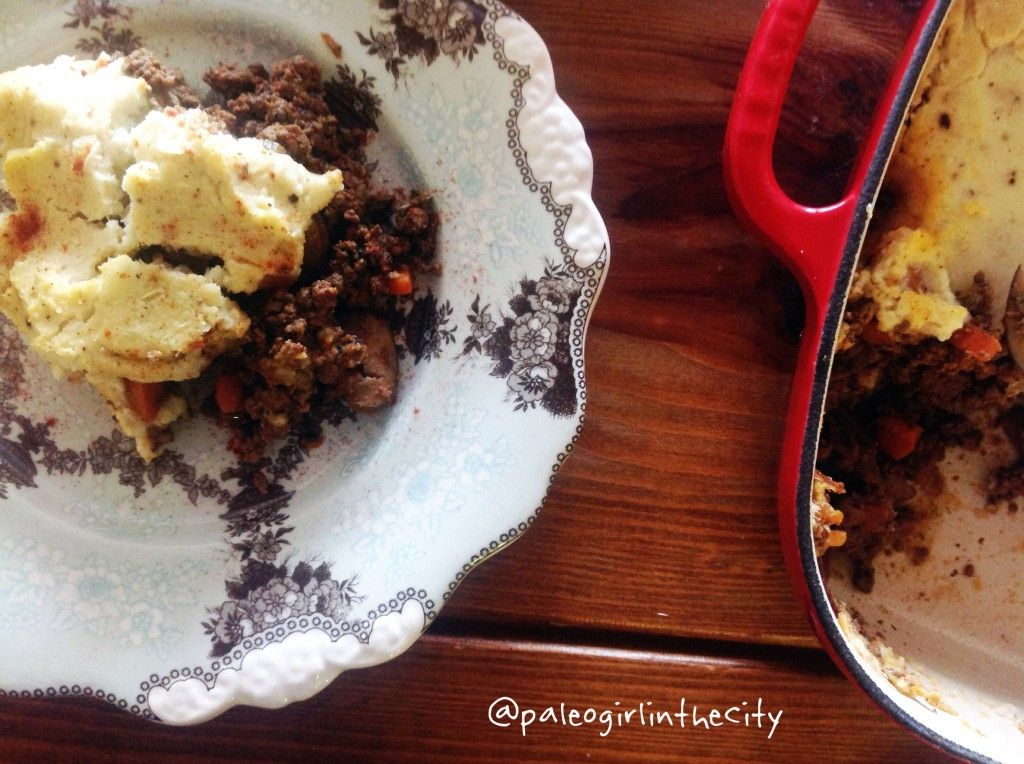 Paleo shepherd's pie with a nutrient-packed secret ingredient...LIVER!!