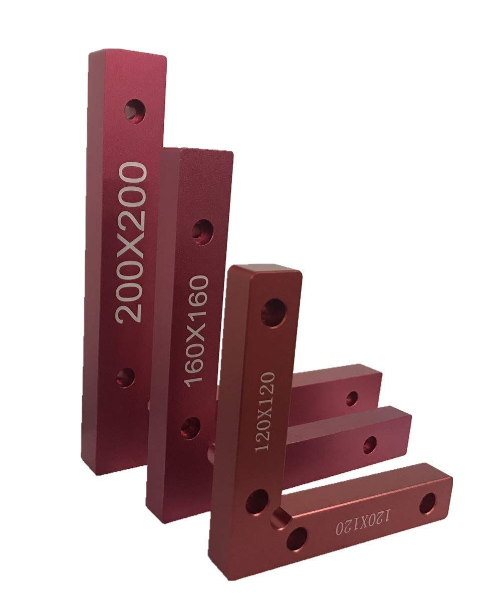 90 degree positioning squares 4.7 x 4.7 right angle clamps