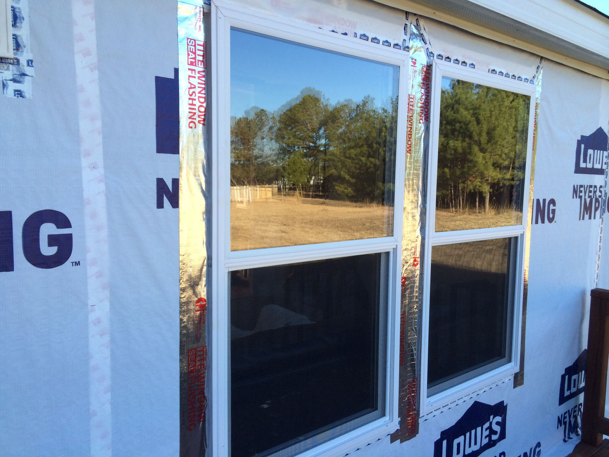 Window replacement on our mobile home building for Mobile home replacement windows